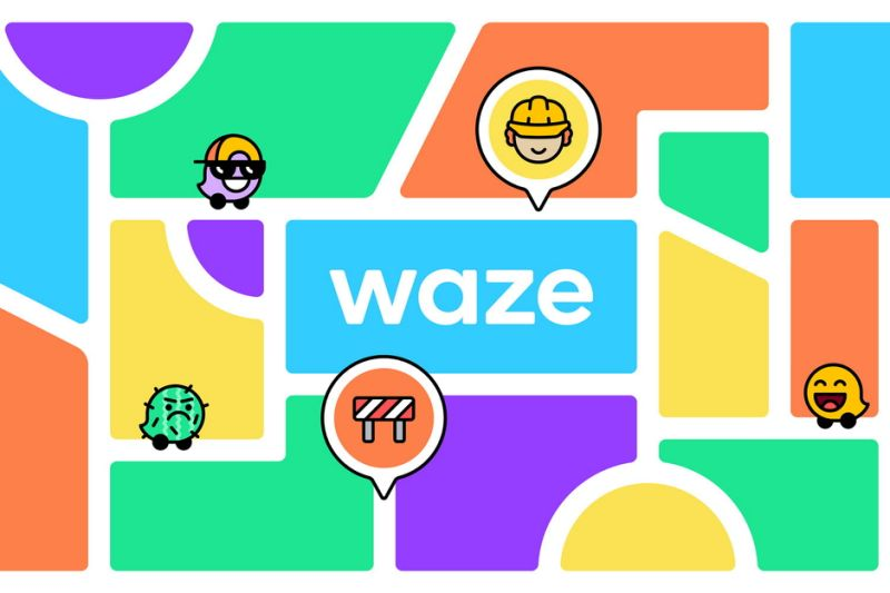 Waze block by block