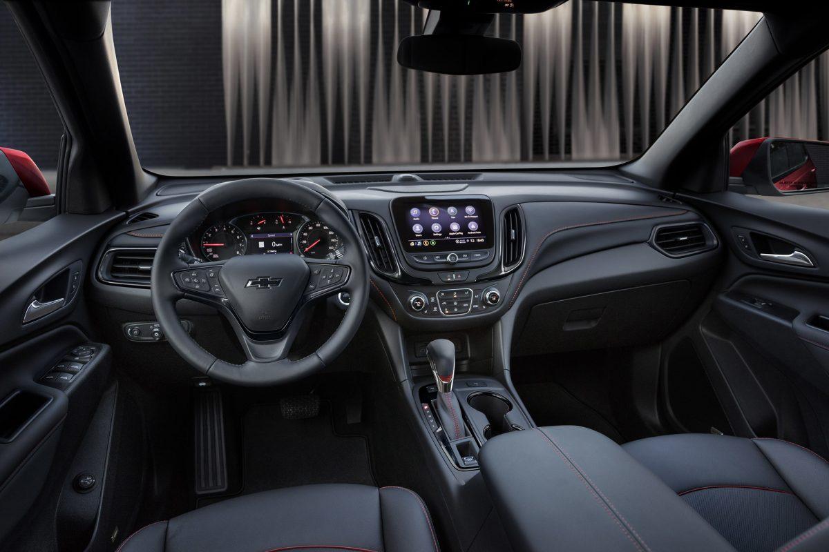 2021 Chevrolet Equinox RS Interior