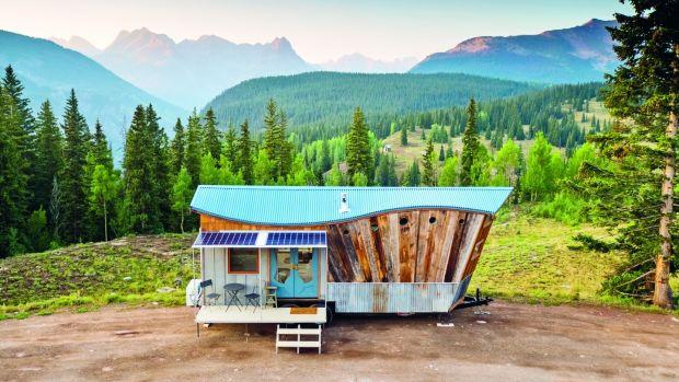 San Juan Tiny House in Colorado by Rocky Mountain Tiny Homes